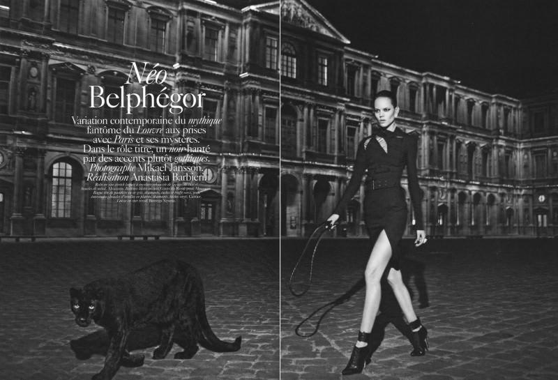 Editorial - Neo Belphegor Vogue Paris Sept10 by Mikael Jansson HQ via Carla-A @ tFS 1