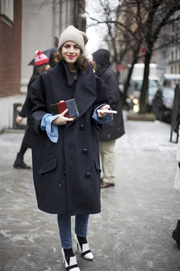 Fall-2013-Trends-Outerwear-Street-Style-New-York-Fashion-Week-Leandra-Medine-600x902