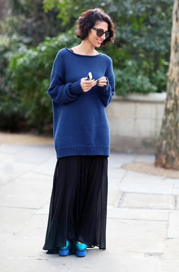 Phil Oh For Vogue Magazine London Fashion Week Street Style Yasmin Sewell Ediotr Style Oversized